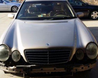 96-03 Mercedes W210 E Class W208 Clk Windshield Wiper Motor Assembly W Linkage