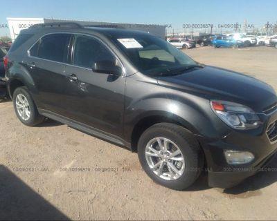 Salvage Black 2017 Chevrolet Equinox