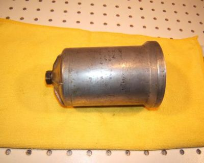 Mercedes W111,112,110,108,109,114,ponton 4/6cyl Oil Filter Metal 1 Canister,#3