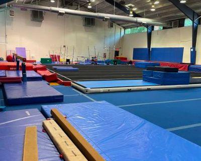 Gymnastics Studio High Ceilings, Sandy Springs, GA