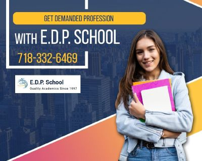Get demanded profession with E.D.P. School