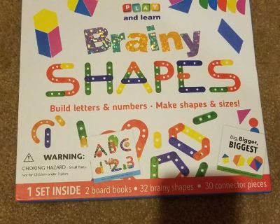 Letter and Shape Building Toys