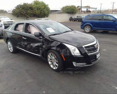 Salvage Black 2016 Cadillac Xts