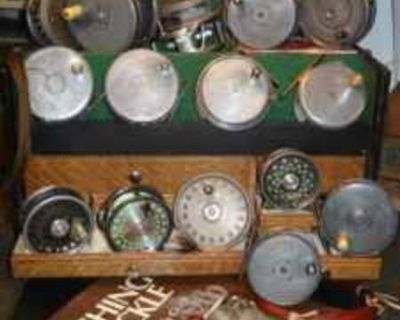 Vintage Fishing Tackle Wanted by Collector