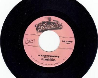 FLAMINGOS ~ Golden Teardrops*Mint-45 !