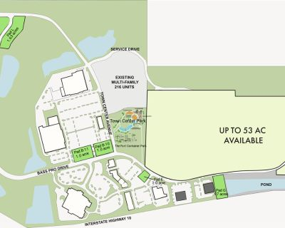 Spanish Fort Town Center - Land Lease Parcels