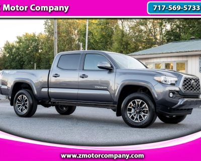 Used 2021 Toyota Tacoma 4WD TRD Sport Double Cab 6' Bed V6 AT (Natl)