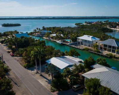 3/2 Cudjoe Key waterfront single level house. - Cudjoe Key