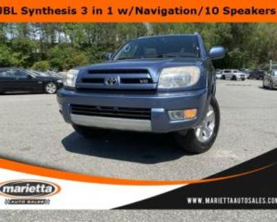 2003 Toyota 4Runner Limited V8 4WD Automatic