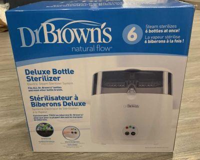 NEW Dr.Brown Deluxe Bottle Sterilizer