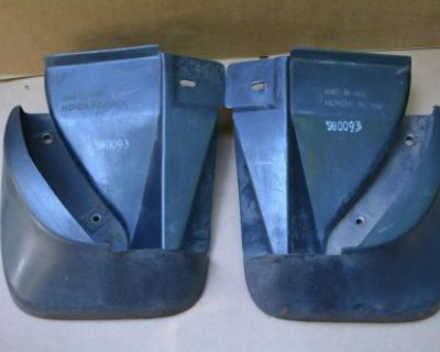 98-02 Honda Accord 2 Door Dr Coupe Rear Splash Mud Gurads Flaps Pair Set Lh Rh