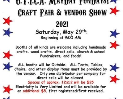 U.T.I.C.A. May Day Craft Fair