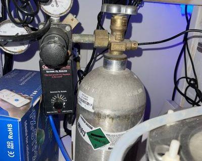 Carbon doser electronic CO2 regulator 5#CO2 full
