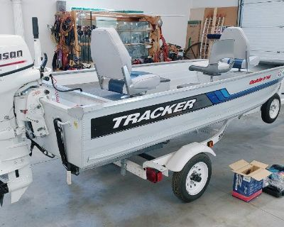 1994 Tracker Guide V14 Fishing Boat-Never Used!