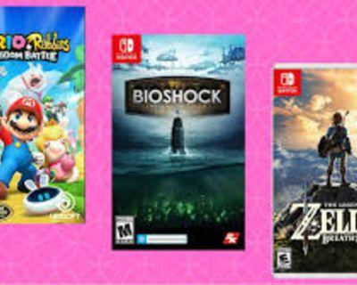 Buying Nintendo Switch Games
