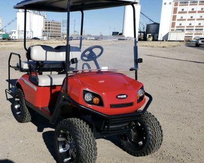 New 2020 EZGO S4 Gas Golf cart