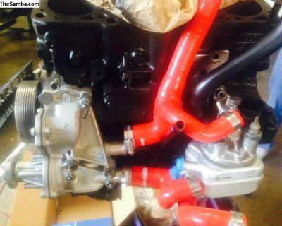 VW 1.9 Tdi Ahu Engine 5 Ply Silicone Coolant Hoses