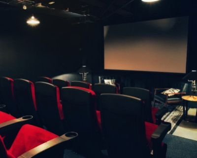 Stylish Venue with Private 4K Theater, Los Angeles, CA