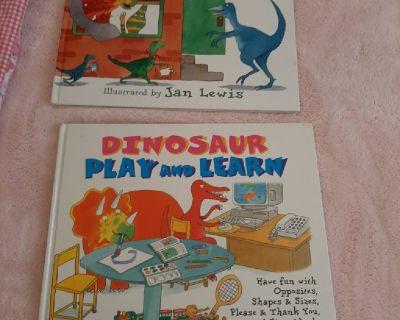 Dinosaur Play Books