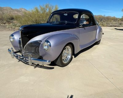 1939 Lincoln Zephyr 3 Window Coupe