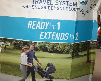 New Graco Uno2Duo Travel System Stroller