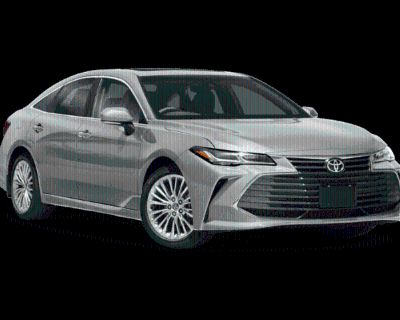 New 2021 Toyota Avalon Limited FWD 4 In-Tranist