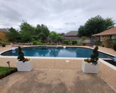 Equipped Indoor Studio Space with Outdoor Pool & Spa Surrounded by Scenic Gardens, Fort Worth, TX