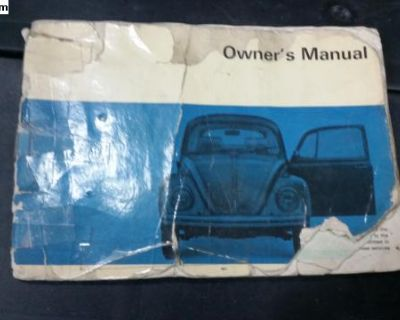1969 Bug Owners Manual