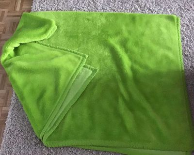 Bright Green bed cover