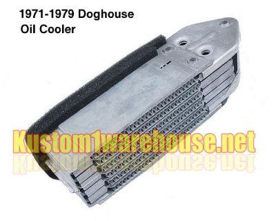 New late model doghouse oil cooler