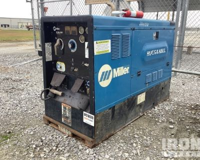 2014 (unverified) Miller Big Blue 400P Engine Driven Welder