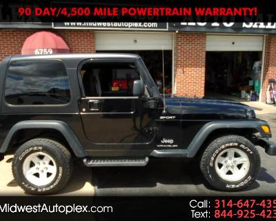 2005 Jeep Wrangler 4WD 2dr Sport