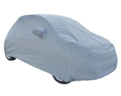 2012-2013 Fiat 500 Custom Fit Car Cover 4 Layer - Gray - Rampage Products