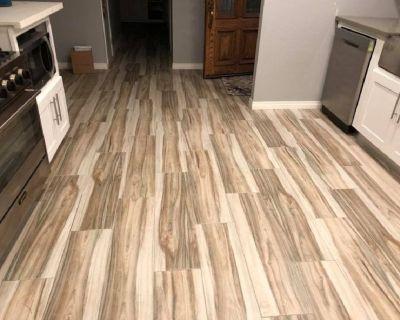 Laminate Flooring Installation-Bathroom Remodels-Showers-Tubs