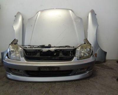 Jdm Honda Prelude 1997-2001 Bb6 Bb8 Nose Cut Bumper Headlights Fenders Hood #7