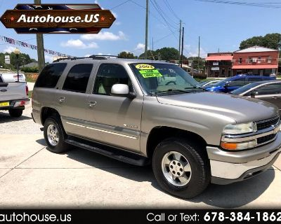 2003 Chevrolet Tahoe LT 3rd Row Leather