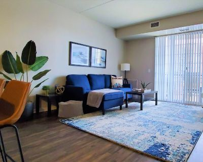 Upscale Condo, Washer and Dryer, Fireplace, King Bed, Close To It All - Downers Grove