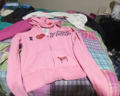 Vs Pink Med Hoody perfect shape