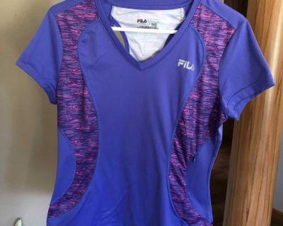 Womens Fila Sport Running top size L