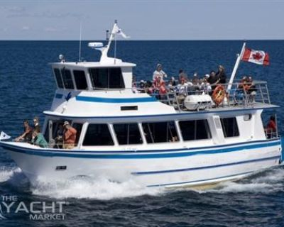 Custom Built 1978/2000 14.39m x 4.82m x 1.71m Aluminum 46 PAX, Twin Screw, Double Deck Passenger Boat for sale