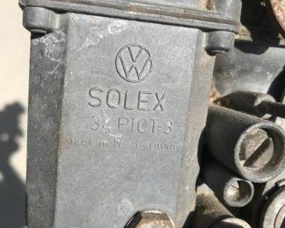 Original German 34 pic carburetor