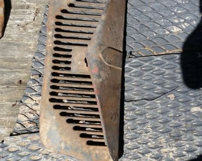 RARE 1936 Ford Truck LOWER INSIDE GRILLE PAN APRON Original pickup panel 36