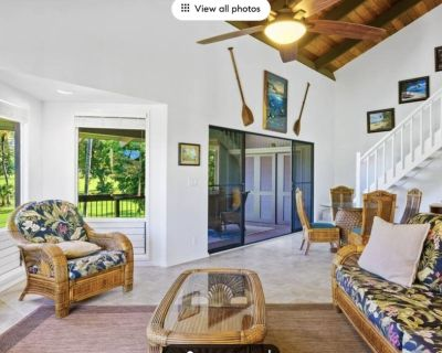 Luxurious Three Bedroom & Three Bathroom Duplex on Golf Course with two Lanais - Kahaluu-Keauhou