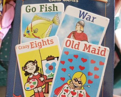 New Kids cards games