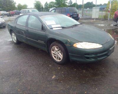 Salvage Green 1999 Dodge Intrepid