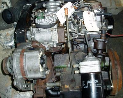 VW 1600 Turbo Diesel Engines: Jetta, Golf