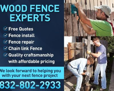 New Fence Install - Repair - Gates