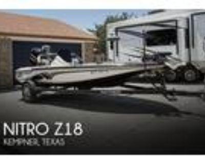 18 foot Nitro Z18