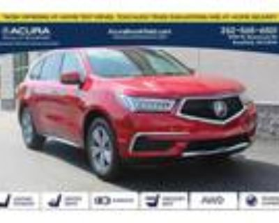 2020 Acura MDX Red, 21 miles