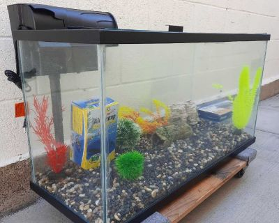 40 gallon Aquarium Bundle